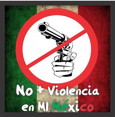 No mas violencia en Mexico