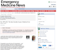 Emergency Medicine News - Alex Mohseni - Slack for Hospitals
