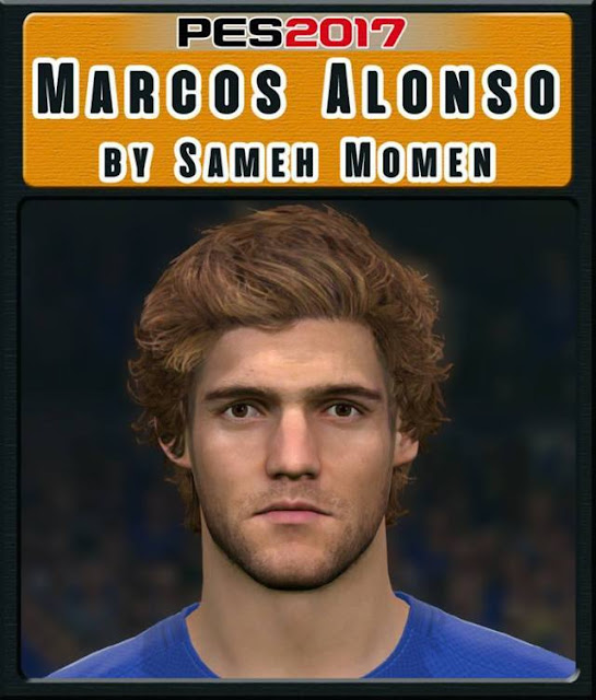 Marcos Alonso New Face PES 2017
