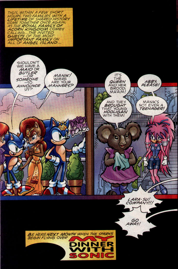 Read online Sonic The Hedgehog comic -  Issue #137 - 21