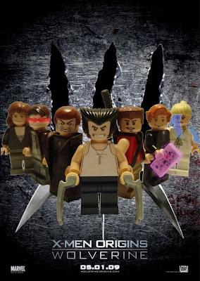 Cartel o poster con personajes de lego