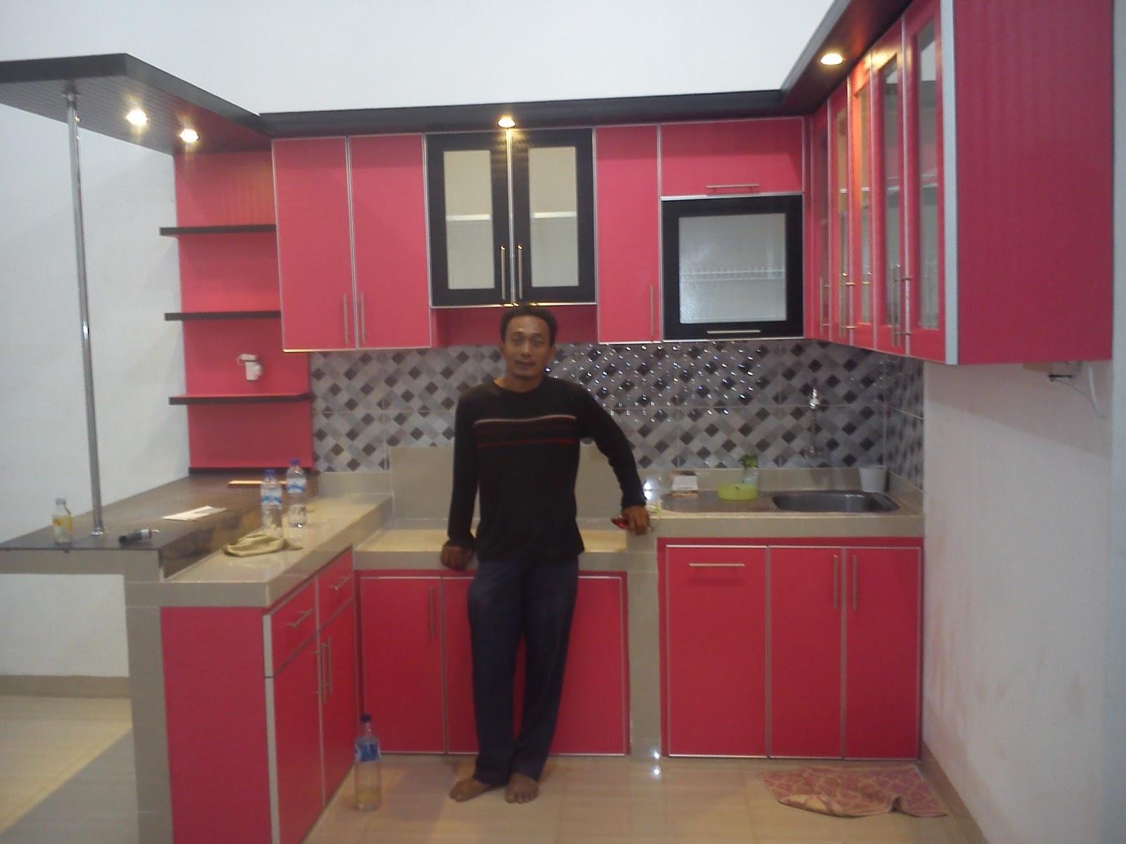 Desain dapur bentuk u