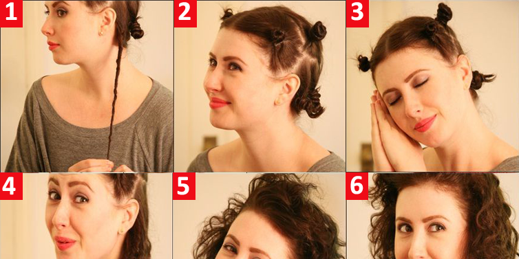 Retro Curly Hair From The 80s Hairstyle Tutorial Toronto