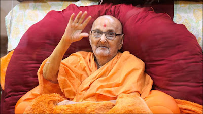 Swaminarayan sect head's condition stable
