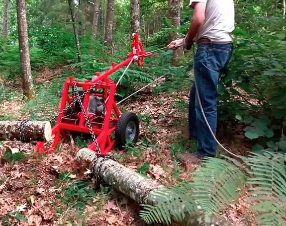 Treuil forestier Matériel agricole neuf et occasion sur Annonces
