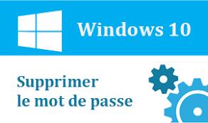 renitialiser mot de passe windows