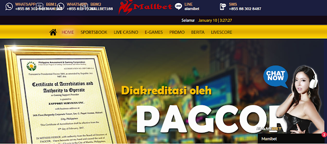 2 Situs Bola Resmi Terpercaya Agen Casino Resmi Terlengkap