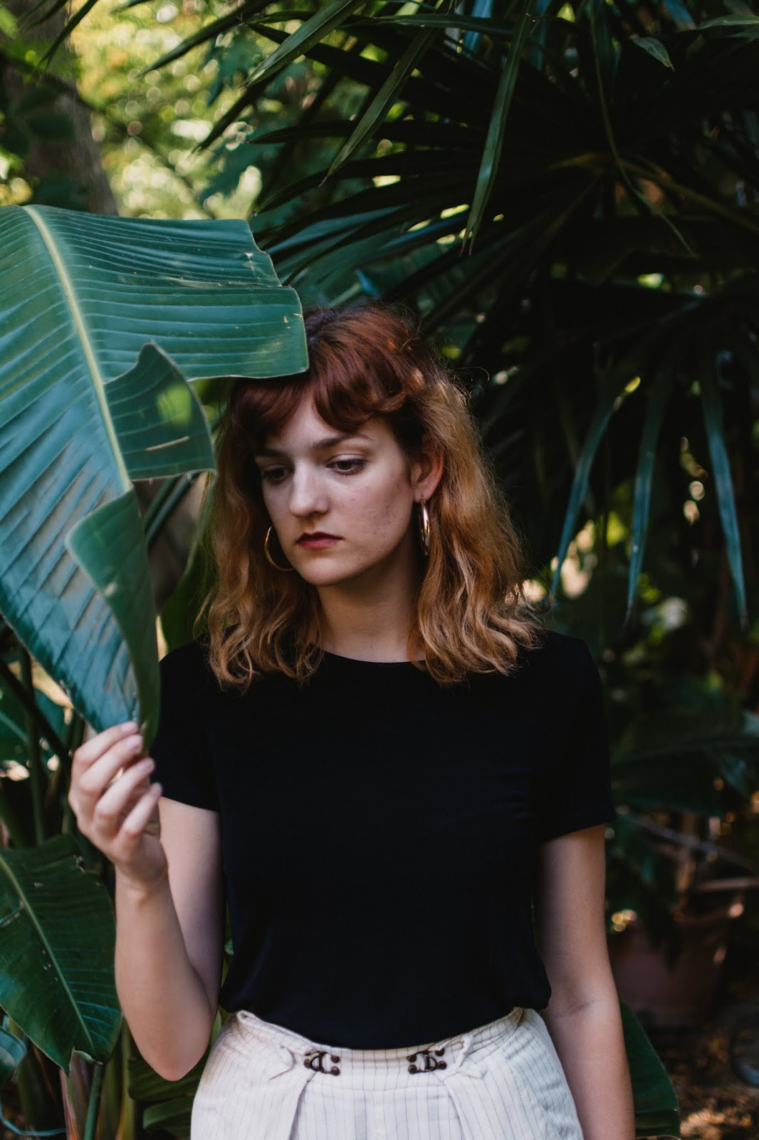 botanical garden portrait