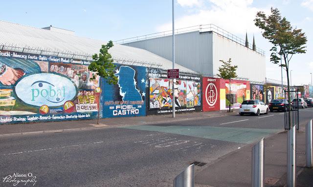 Roadtrip en Irlande du Nord - Belfast - Murs de la paix