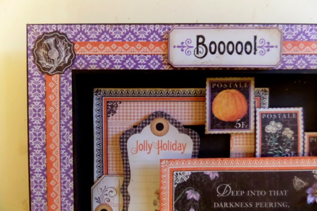 Time to Flourish Altered Frame 2 Clare Charvill Candy Box Crafts Graphic 45