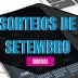 SORTEIOS DO MÊS DE SETEMBRO/2017