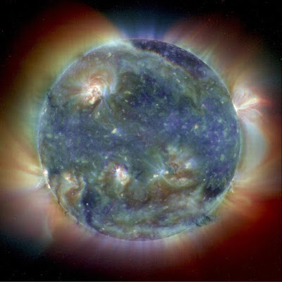 The Sun's intricate atmosphere in ultraviolet