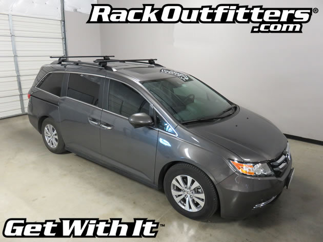 High Quality This Complete Multi Purpose Base Roof Rack Is For The 2011 To 2016 (check  Guide For Other Years) Honda Odyssey With Raised Side Rails.