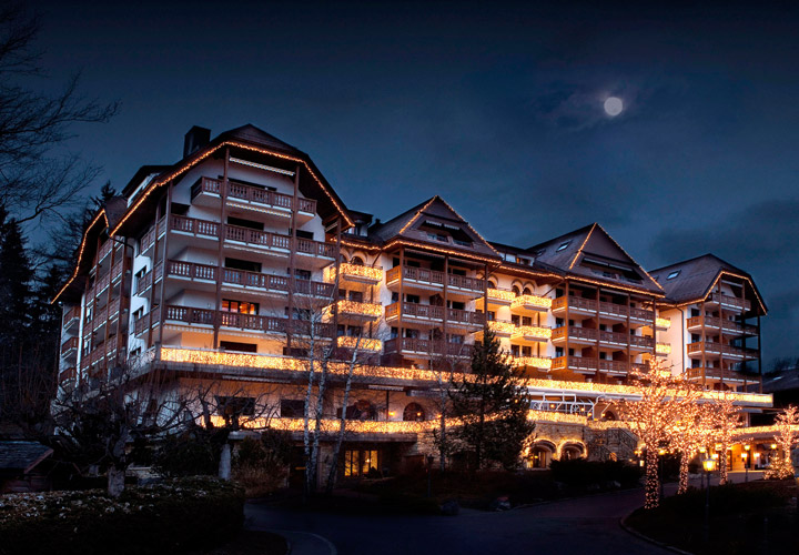 The sumptuous Grand Hotel Park in Gstaad. Photo: Grand Hotel Park.