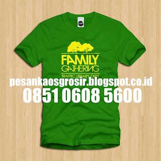 Produksi Kaos Familly Gathering - 0851 0608 5600