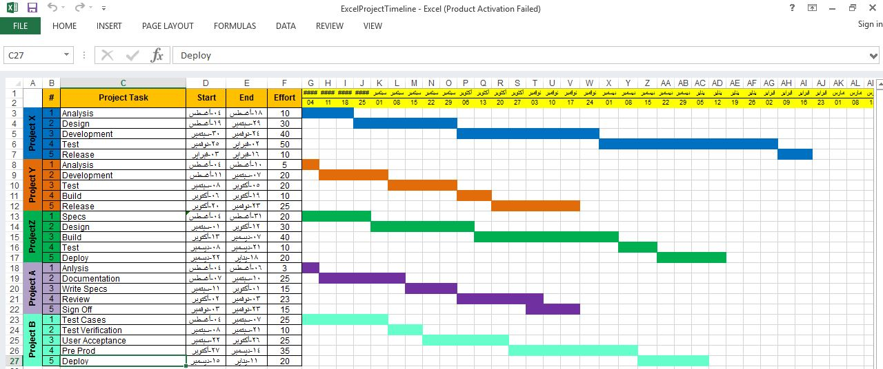 Project Timeline Template Excel ENGINEERING MANAGEMENT - Project timeline template