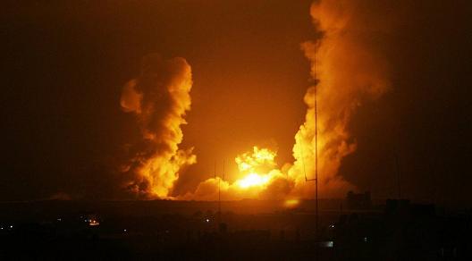 Sehari Pasca Pernyataan Trump, Israel Serang Gaza