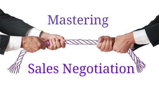 Mastering the art of Sales Negotiations