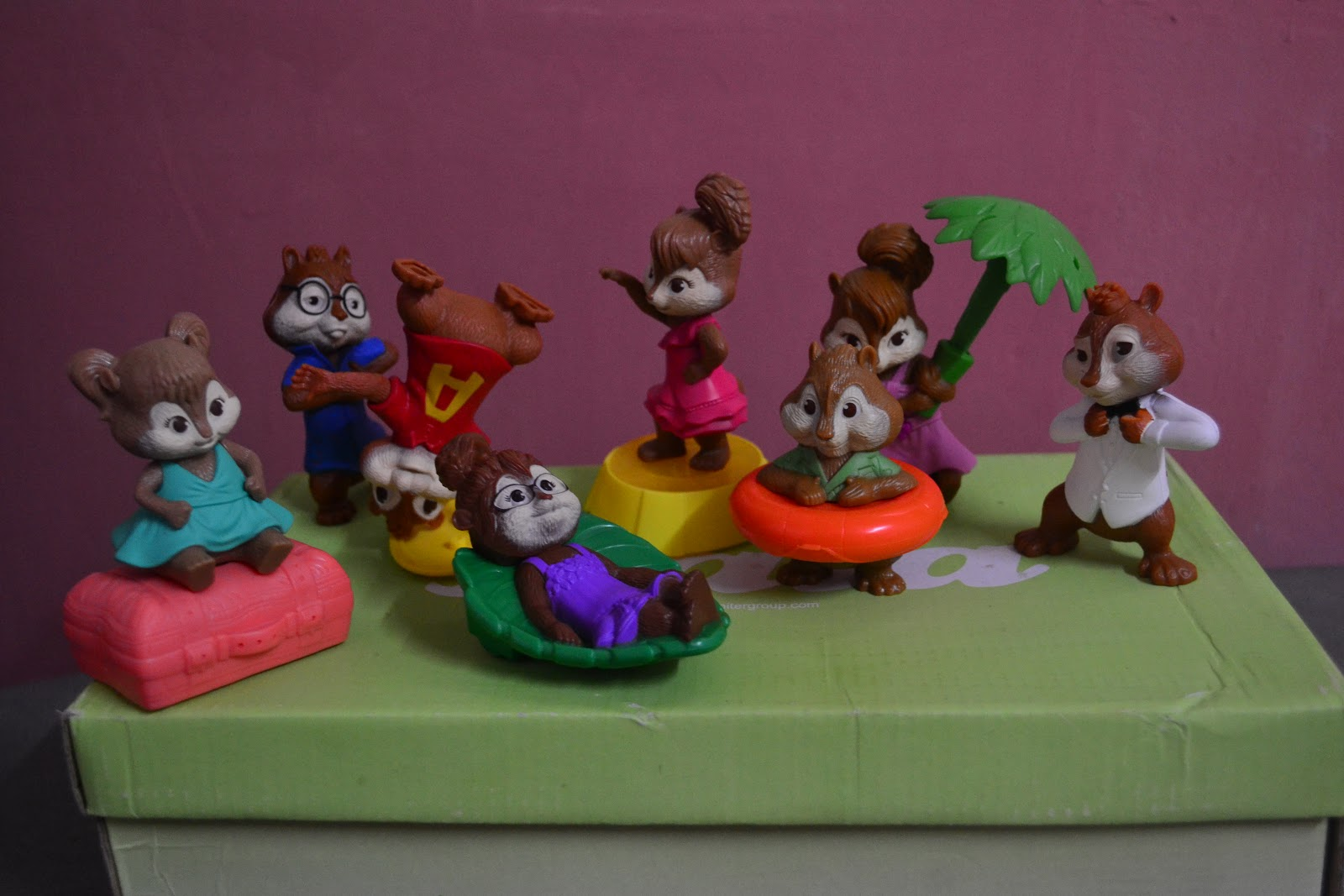 Totally Toys Alvin The Chipmunks Chipwrecked Happy Meal Toys