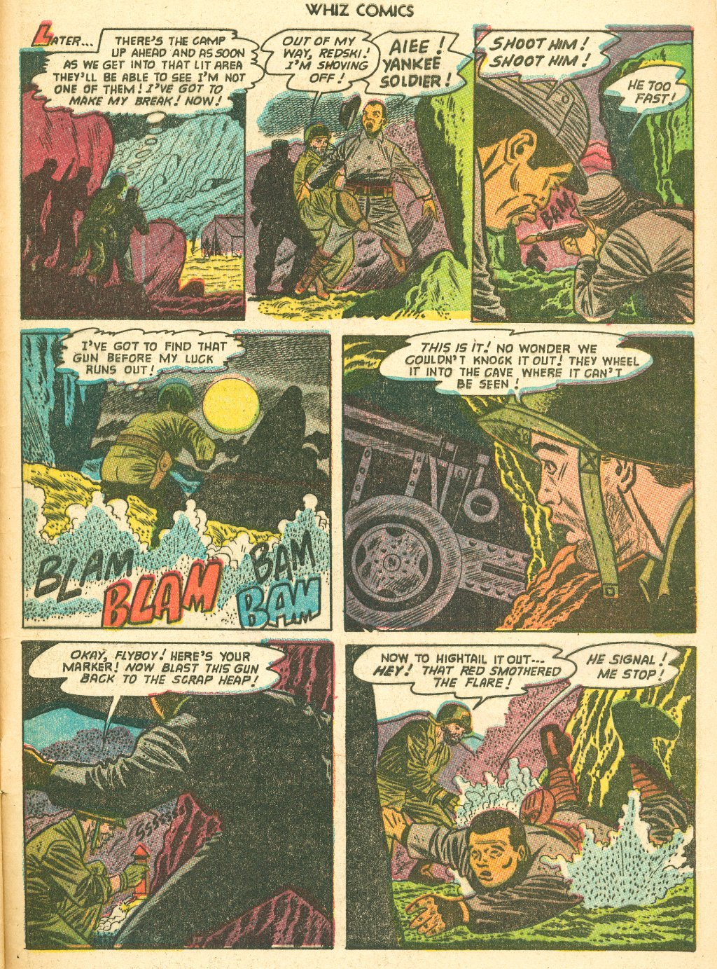 WHIZ Comics #155 #156 - English 33