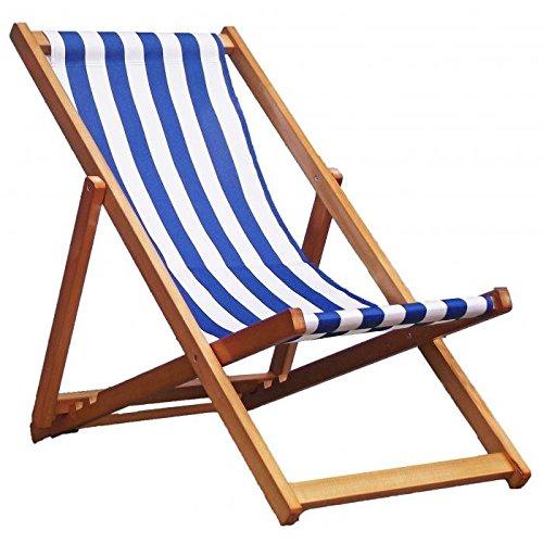 Sedia a sdraio in legno tradizionale Hardwood