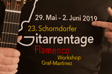 Flamenco-Gitarrenkurs 2019