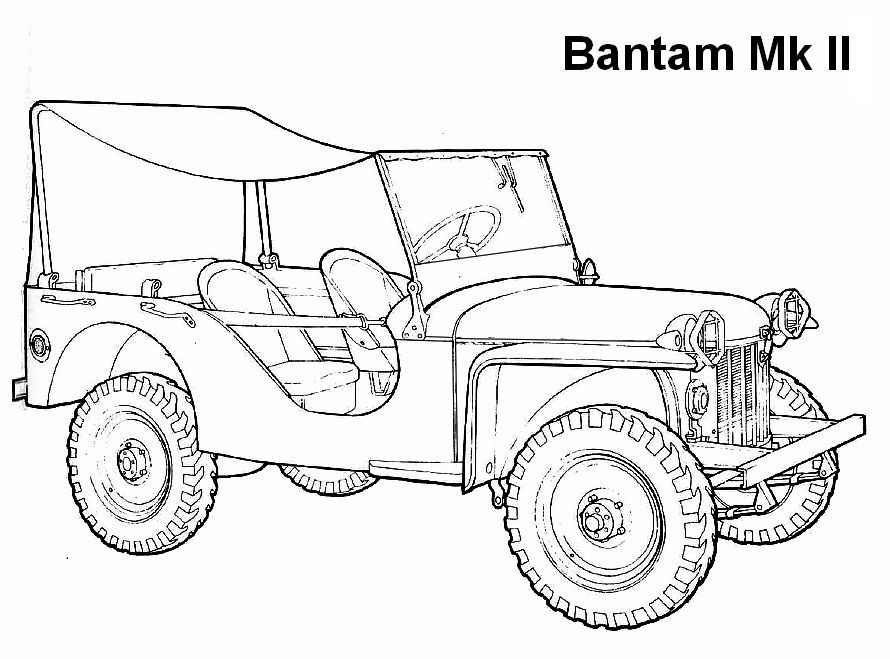 G503 Wwii Willys Mbt And Bantam Jeep Trailer Wiring
