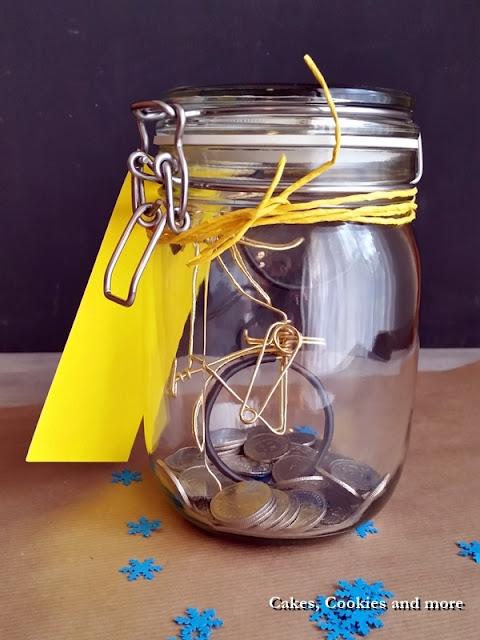 Geldgeschenk im Einmachglas