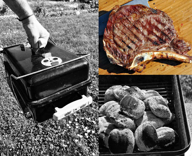 Koffergrill Go Anyware von Weber