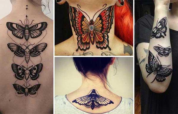 Kelebek Dövmeleri Ve Anlamları