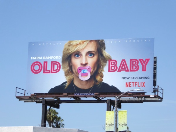 Maria Bamford Old Baby billboard