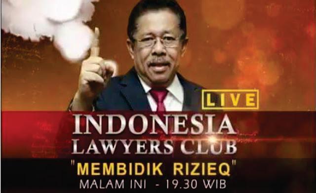 """Heboh! ILC Tema """"Habib Rizieq Dibidik"""" Dibatalkan! Negara Semakin Panik?"""