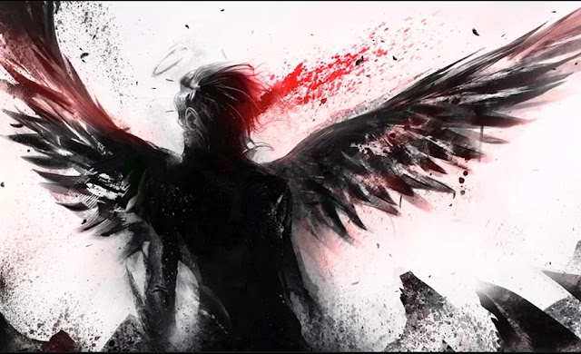 Fallen Angel Animated Wallpaper Engine