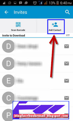 yang memiliki fungsi sama fungsinya ialah semoga sahabat dapat masuk ke daftar kontak BBM mi 4 Cara Menambahkan / Invite Teman ke Kontak BBM Lengkap