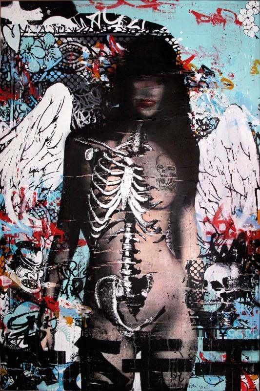 Уличный художник. Hush 17
