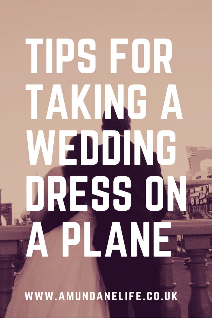 Tips for taking a wedding dress on a plane a mundane life for Wedding dress on plane