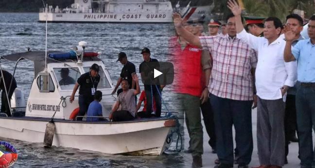President Duterte Leads The Ceremonail Send-off Of Vietnamese Fishermen