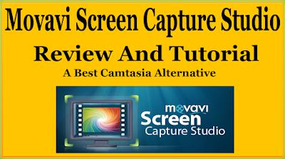Movavi Screen Capture Studio Review And Tutorial - A Best Camtasia Studio Alternative