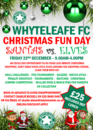 only 2500 for the day which will include a hot lunch book in advance to avoid disappointment contact charlie bickell on 020 8660 5491 or via email at - What To Do On Christmas Day