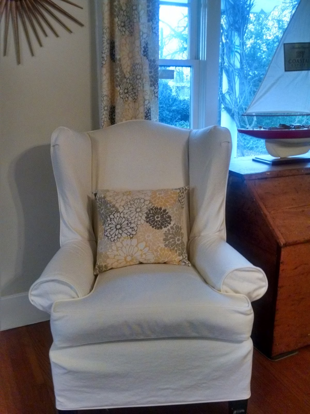 wingback of slipcovers elegant chair new slipcovered chairs pics for fresh sure slipcover dining patterns fit