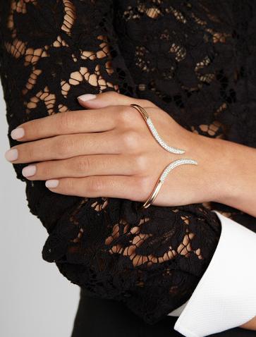 Diamond Hand cuff Ana Khouri FW 2011-2012
