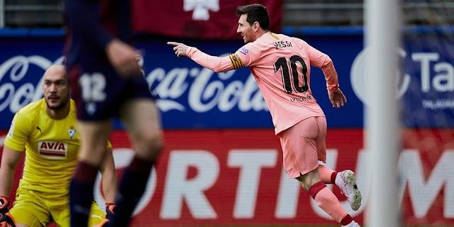 Barcelona Harus Kecewa dengan Skor Imbang Melawan Eibar dalam Menutup Musim LaLiga 2018/2019