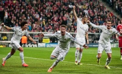 Video Cuplikan Gol Bayern Munchen VS Real Madrid 0-4 30 April