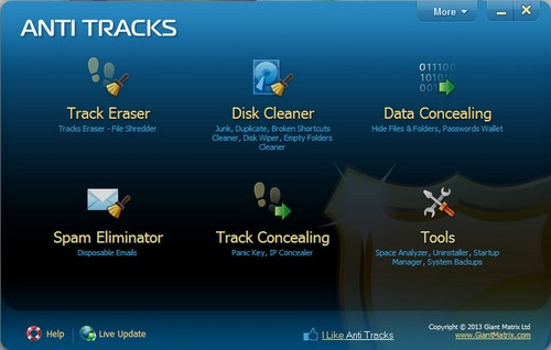 Anti Tracks Free Edition 9.0.1.107