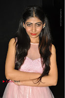 Actress Nidhisha Reddy Pos in Beautiful Pink Dress at Virus Telugu Movie Audio Launch .COM 0016.JPG