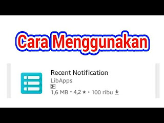 Bagaimana cara menggunakan recent notification Cara Menggunakan Recent Notification Whatsapp