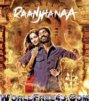 Watch Online Bollywood Movie Raanjhanaa 2013 300MB BRRip 480P Full Hindi Film Free Download At WorldFree4u.Com