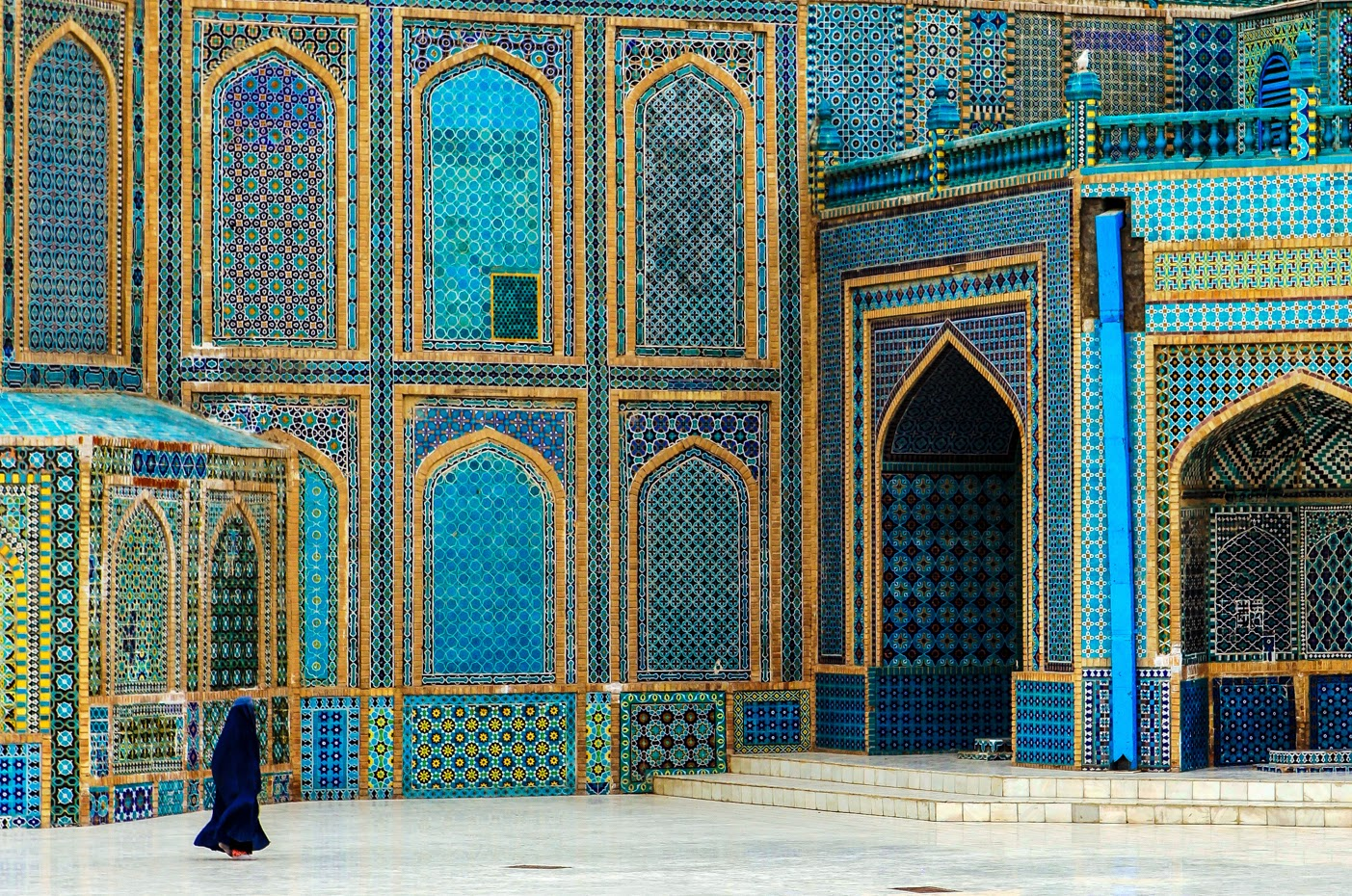 Woman in Mazar-e Sharif