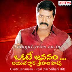 Okate jananam song telugu lyrics image, poster, photo, cd covers, pictures, pics, dvd labels