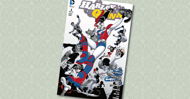 Harley Quinn 6 Panini Cover